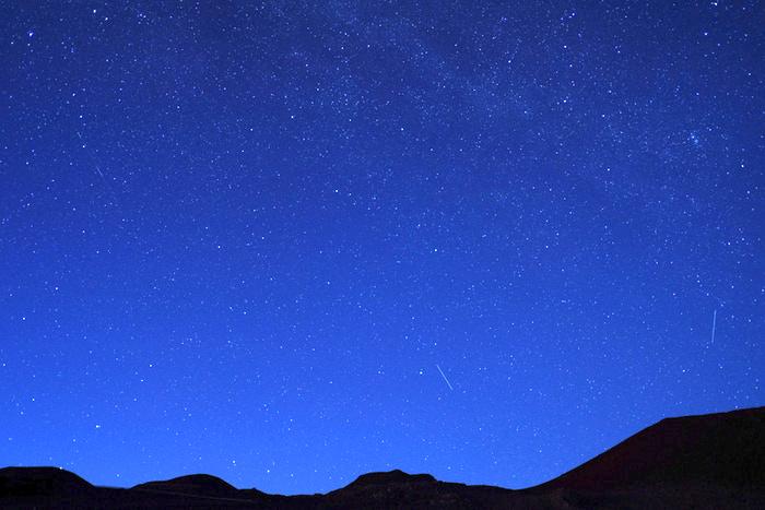 マウナケアで見た満天の星空